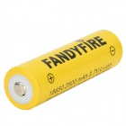 3.7V 1433mAh 18650 FANDYFIRE Litio-ion (2 PCS)