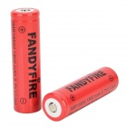 FANDYFIRE 3.7V 1300mAh 18650 Li-ion Batteries (2 PCS)