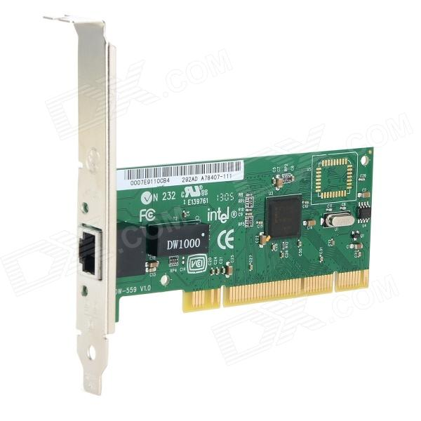Adaptador de red PCI DIEWU DIEWU Intel82550/559