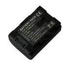 VG114 3.6V 1400mAh Decoded Battery for JVC BN-VG107 / VG108 / VG121 / VG114 Digital Camera - Black