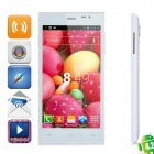 "JIAKE JK13 Dual-core Android 4.2.2 WCDMA Bar Phone w/ 5"" Screen, Wi-Fi ang GPS - White"