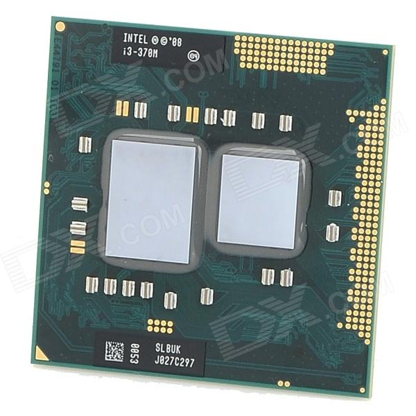 Intel Core i3 - 370M LGA1155 2,4 GHz 3 Mt L3 Cache Socket 35W Dual-Core prosessori CPU (Second Hand)