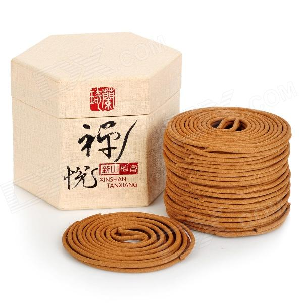 XSTX001 Sandalwood Powder + Sticky Powder Incense - Dark Yellow