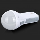 KM KM-5615 3W 150lm 6500K 20-LED 2-Mode Rechargeable Energy-saving Lamp - White + Grey (AC 100~240V)