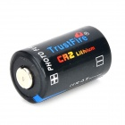 TrustFire 3V CR2 Li-ion Batteries - Black (2PCS)
