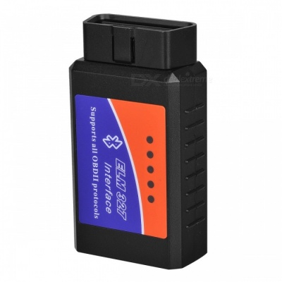 OBDII Diagnose Apparatus - Black (12V)