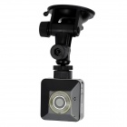 Multifunctional Mini 1/4 CMOS 1.3MP WiFi Network Camera - Black + White