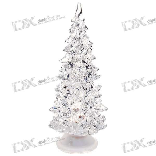 Colorful LED Desktop Christmas Tree (2*CR1220)