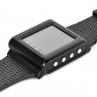 "AK812 Mini Ultrathin GSM Watch Wrist Phone w / 1.44"" skjerm, Bluetooth, Triple-band og Radio"