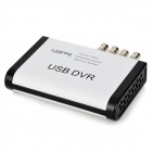 AVR4  4-Channel BNC to USB Converter DVR Adapter / Camera Video Switcher - White