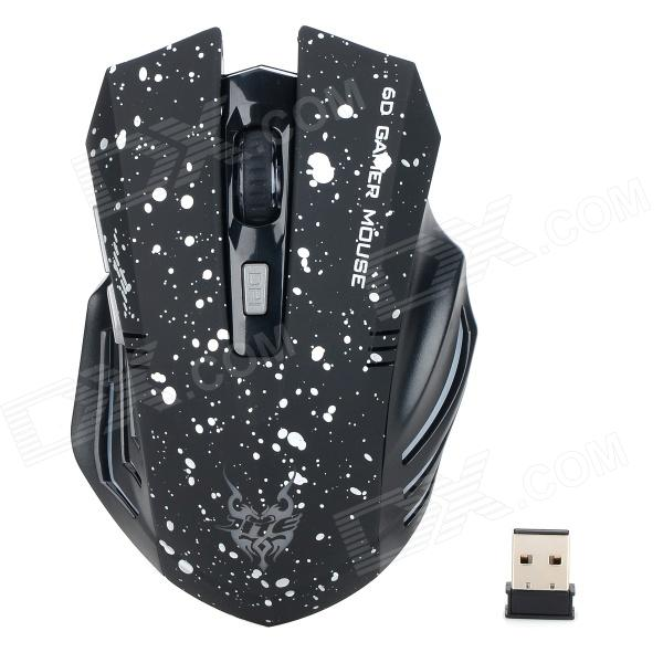 Jiete 3231 2.4GHz 1000 / 1200 / 1600dpi Wireless Mouse hongkong agency pixel to buy aircraft commercial airline fleet planning commercial jetliners plane model hobby