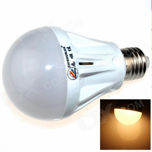 ZHISHUNJIA E27 7W 600LM 3000K 27-SMD 2835 LED Warm White Light Bulb (85~265V) катушка lucky john anira spin 7 3000 fd