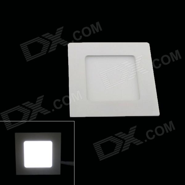 KINFIRE 12W Square 840lm 60-SMD 3528 LED White Light Ceiling Lamp w/ Driver (AC 85~265V) kinfire square shaped 15w 1320lm 75 smd 3528 led white light ceiling lamp w driver ac 85 265v