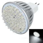 MR16 3.8W 60-LED 6500K 360-Lumen Light Bulb - White (12V)