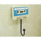 Brasão Tape Criativo disco Registros Estilo Hanger Set - White + Light Blue