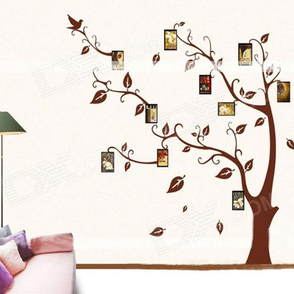 Fashionable Combined Creative Photo Frame Memory Tree - Multicolored