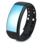 Multifunctional 3D Fashionable Calorie Pedometer + 8GB USB Flash Disk + Sport Smart Watch - Black