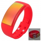 Multifunctional 3D Fashionable Calorie Pedometer + 8GB USB Flash Disk + Sport Smart Watch - Red