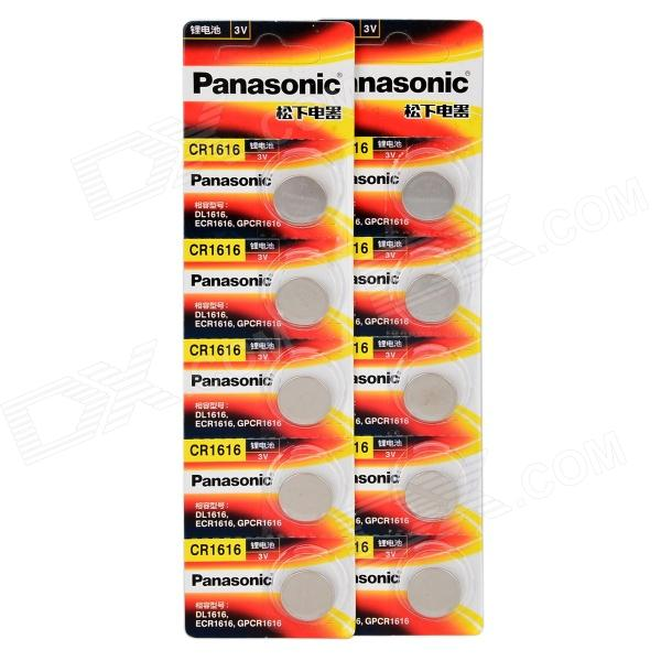 Panasonic CR1616 litio ion 3V botón célula - naranja + amarillo