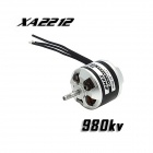 EMAX XA2212 980KV børsteløs motor for RC Quadcopter - Sort + Silver + flerfarget