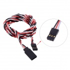 90cm 60 Core Anti-interference RC Servo Extension Cord w/ Magnetic Ring for JR / Futaba