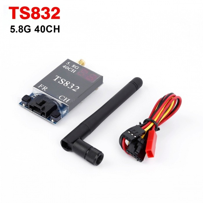 Boscam TS832 FPV System 5.8GHz 600mW Wireless AV Transmitter - Black