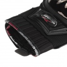MAD-01S Professional Full-Finger Racing Gloves - Black (Size M)
