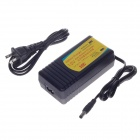 HB-130803 13.8V 3A 13.9W US Plug Charger for Lead-Acid Battery - Black (100~240V / 5.5 x 2.1mm)