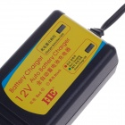 HB-130803 13.8V 3A 13.9W US Plugs Charger for Lead-Acid Battery - Black (100~240V / 5.5 x 2.1mm)