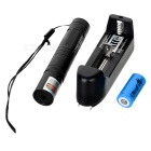 5mW 532nm Green Laser Pointer Flashlight  - Black (1 x 16340)