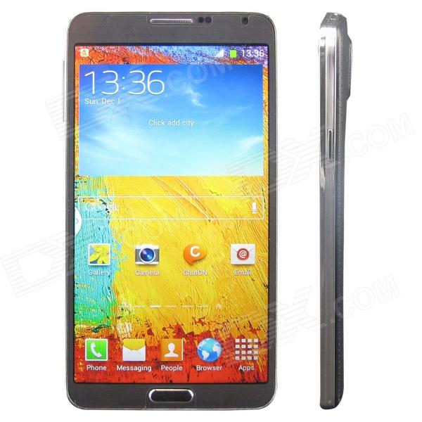"N900W MTK6582 Quad-core Android 4.2.2 WCDMA Bar Phone w/ 5.5"" IPS, Wi-Fi, GPS, S Pen Stylus - Black"