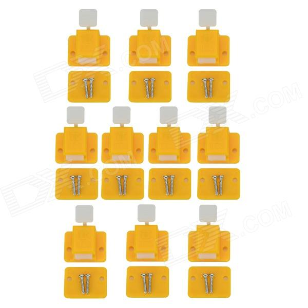 LSON Prototype Test Fixture Jig for PCB Board - White + Yellow (10 PCS)