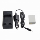 Replacement Canon NB-10L Battery + Charger for Canon SX40 HS SX40HS - Black