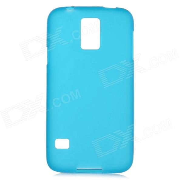 Protective PVC + TPU Back Case w/ Clear Screen Guard for Samsung Galaxy S5 - Sky Blue protective pvc tpu back case w screen protector for samsung galaxy s5 black