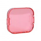 Professional Diving Housing Filter for GoPro Hero 3 - Pink