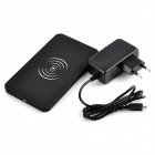 Universal QI Wireless Charger for Cellphone - Black (EU Plug)