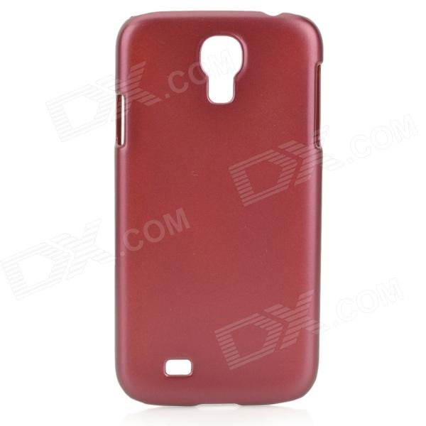 Protective Plastic Back Case for Samsung Galaxy S4 - Red temei protective plastic back case for samsung galaxy s5 red transparent