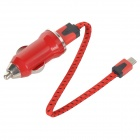 Car Cigarette Lighter Charger + Micro USB to USB Cable for Samsung / Xiaomi / HTC / Nokia (20cm)