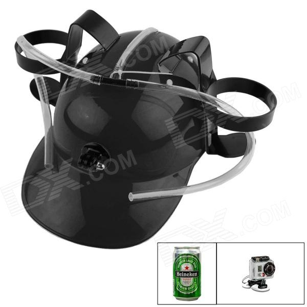 OUMILY Multifunctional Beer Cap for GoPro Hero 4/1/2/3 Camera - Black + Transparent the other side of silence