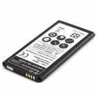 "Replacement 3.8V ""3800mAh"" Battery + 0.8"" LCD Battery Charger + EU Power Adapter for Samsung S5"