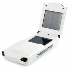 Miniisw SW-120 2.5W 10000mAh Solar Power Mobile Power Source for Cellphone / Laptop - White + Black