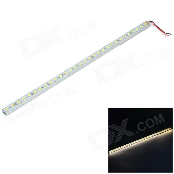 24W 300lm 3200K 30-SMD 5050 LED Warm White Water Resistant Car Light Strip (12V)