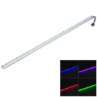24W 30-SMD 5050 LED RGB Water Resistant Light Strip Bar (12V)