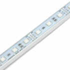 24W 30-SMD 5050 LED RGB Impermeable barra de luz (12V)