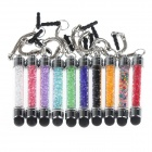 Touch Screen Crystal Stylus with 3.5mm Earphone Anti-Dust Kit for IPHONE 3GS / 4 (10 PCS)
