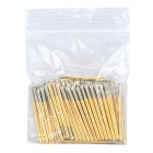 LSON oro placcato ottone stiletto sonda - Golden (100 pz)