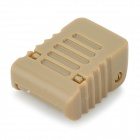 EDCGEAR Plastic Stopper Clip for 4mm Parachute Cord - Earthy