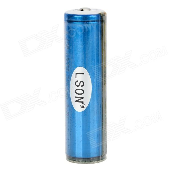 LSON ICR 3.7V 1900mAh 18650 Rechargeable Li-ion Battery - Blue