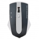 Promi MG-011 2.4GHz Wireless 1600dpi LED Mouse w/ 3-Port USB 2.0 Hub Dock - White + Iron Grey