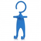 TZ-SJ001LB Multifunction Universal Human-Style Silicone Cellphone Holder - Blue